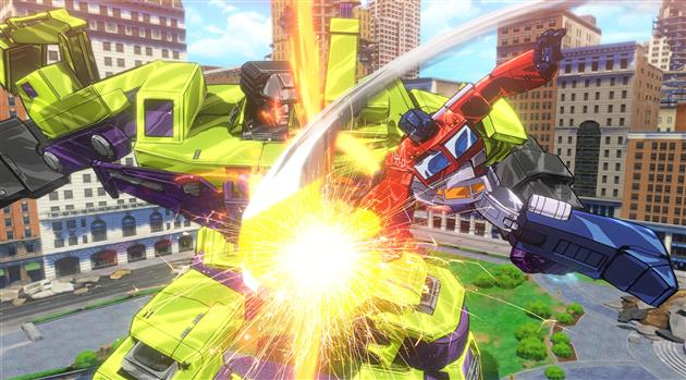 Test Transformers Devastation Xbox One