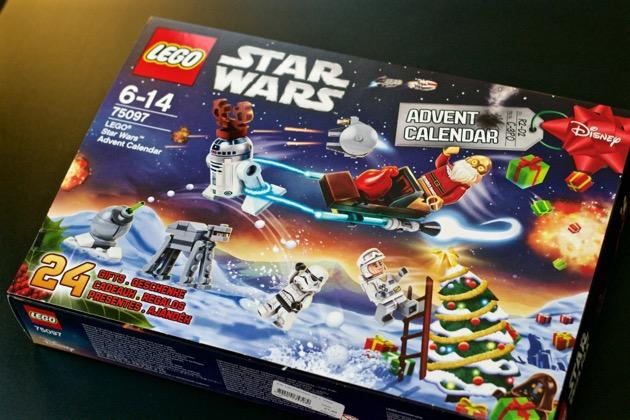 Un peu de shopping 8 Calendrier Lego Star Wars