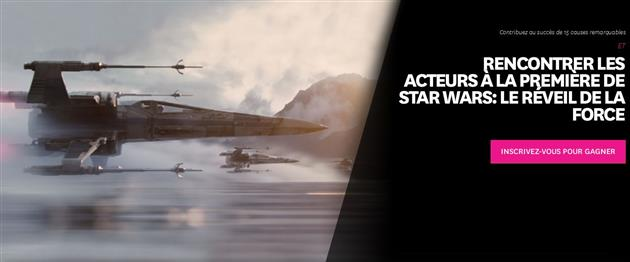 Star Wars Force For Change Episode VII