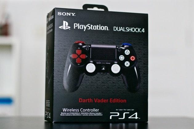 Unboxing Manette PS4 Star Wars Dark Vador Darth Vader