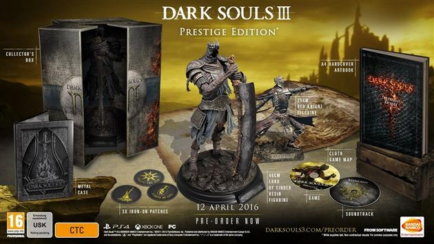 Precommande Dark Souls 3 Collector