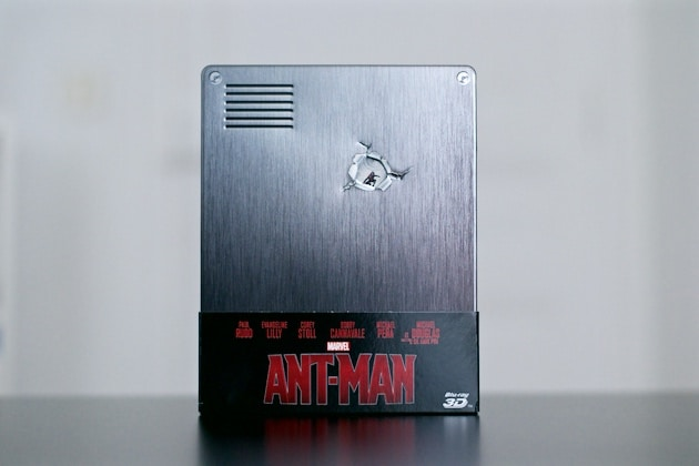 Steelbook Blu ray Ant-Man