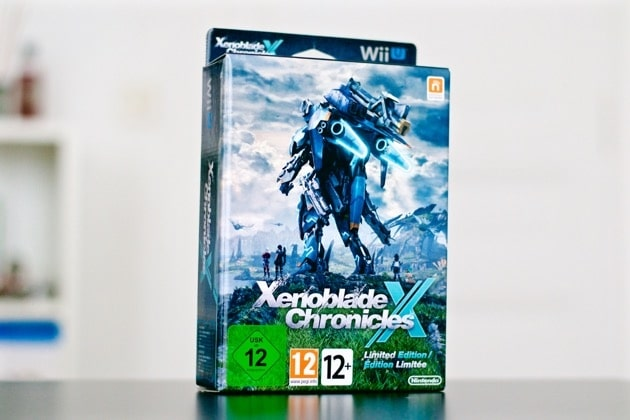 Unboxing Xenoblade Chronicles X Collector Wii U