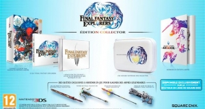 Collector Final Fantasy Epxlorers