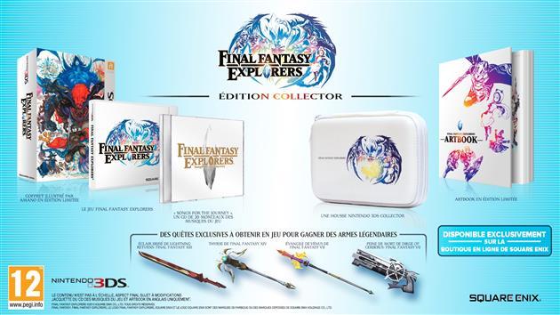 Collector Final Fantasy Epxlorers