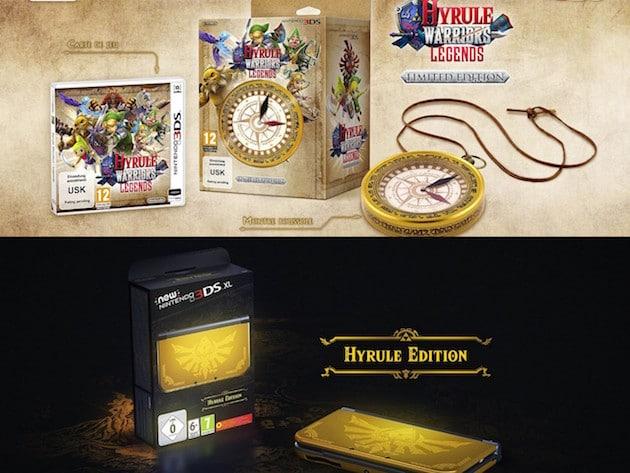 3DS XL Zelda Hyrule Warriors Collector