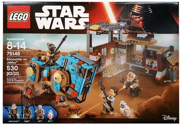 Lego Star Wars Jakku 2016 sets