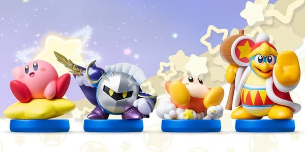 Amiibo Kirby serie