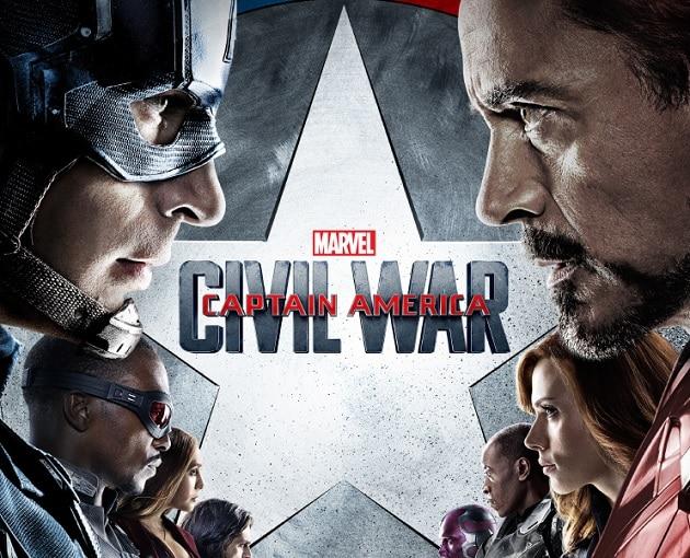 Concours Captain America Civil War