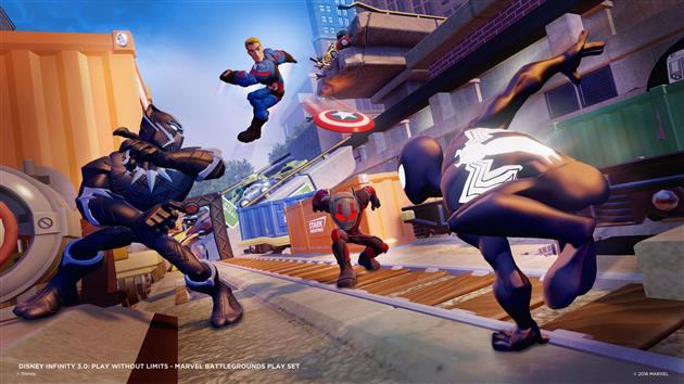Disney Infinity Marvel Battlegrounds Pack Aventure 2