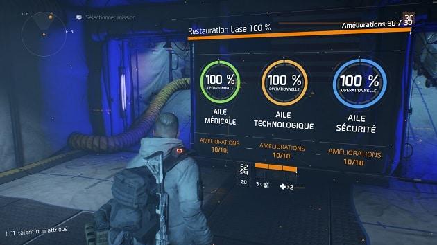 Test The Division Avis 60 heures de jeu