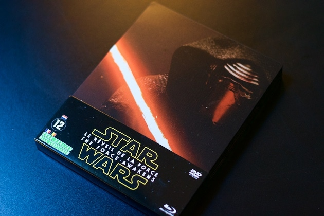 Arrivage Star Wars VII Blu-Ray Collector Steelbook