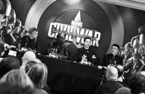 Conférence de presse Civil War