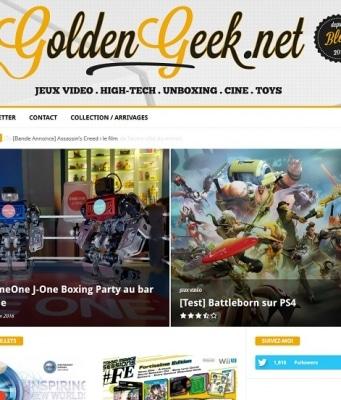Blog nouvelle version goldengeek v2