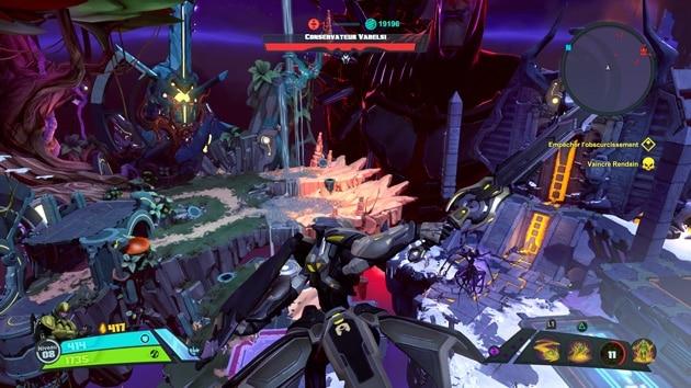 Test Battleborn sur PS4