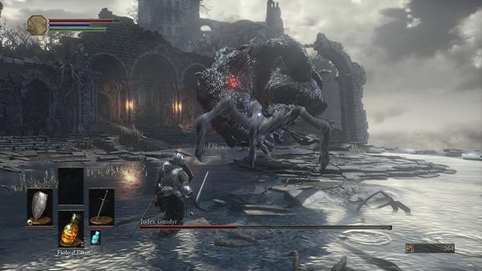 Test Dark Souls 3 PS4