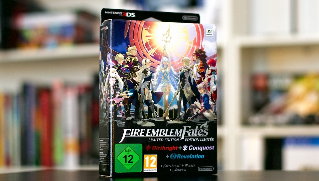 Unboxing Fire Emblem Fates CollectorUnboxing Fire Emblem Fates Collector