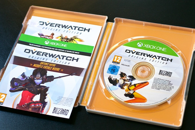 Unboxing Overwatch Edition Collector