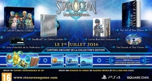 Precommande Star Ocean 5 Edition Collector