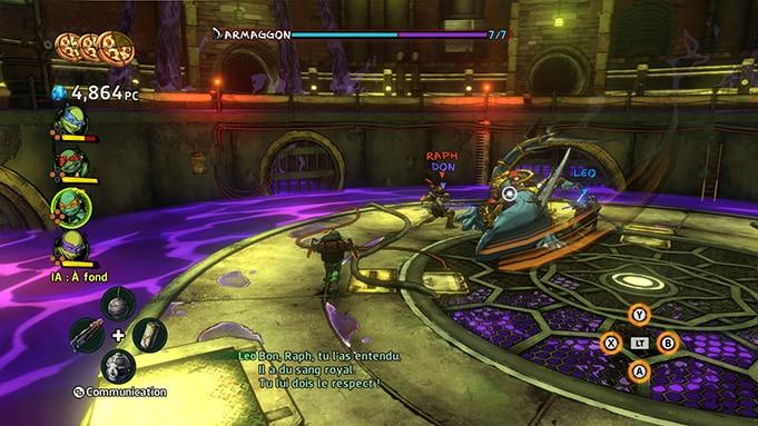 Test Teenage Mutant Ninja Turtles Manhattan Avis