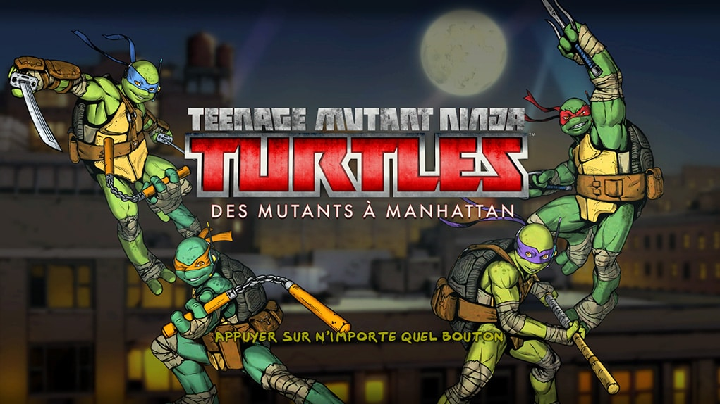 test teenage mutant ninja turtles des mutants manhattan jeux vid o goldengeek. Black Bedroom Furniture Sets. Home Design Ideas