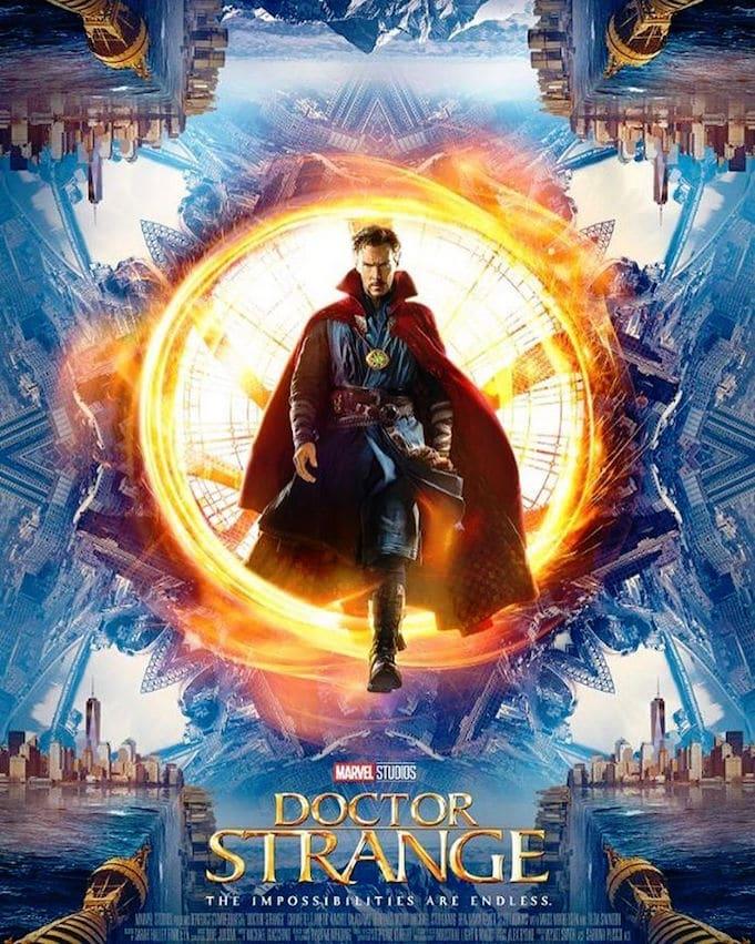 Affiche Doctor Strange Marvel Studios