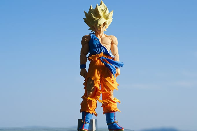 Son Goku Super Master Stars Piece The Original Banpresto