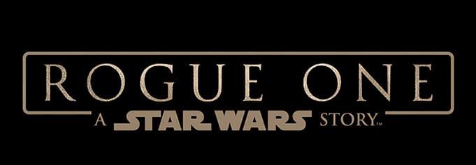 Star Wars Rogue One logo Officiel