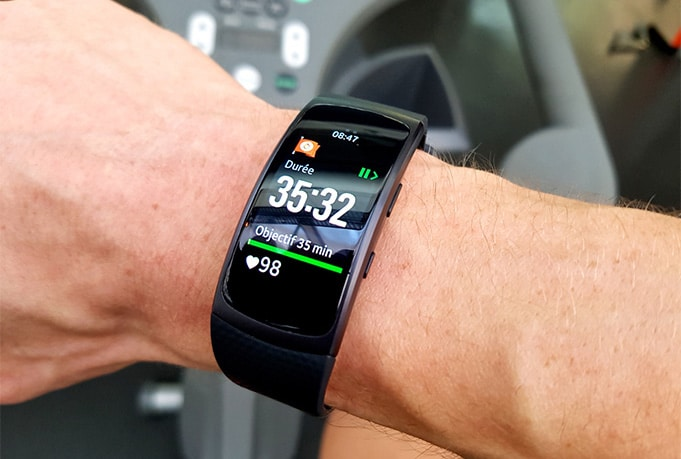 Avis test montre Samsung Gear Fit 2