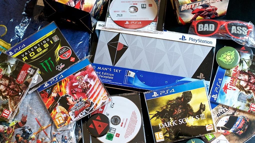 Concours Anniversaire 3 ans n°1 Méga lot de jeux PS4 à gagner ! | Concours - GoldenGeek
