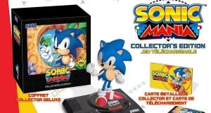 precommande sonic mania edition collector