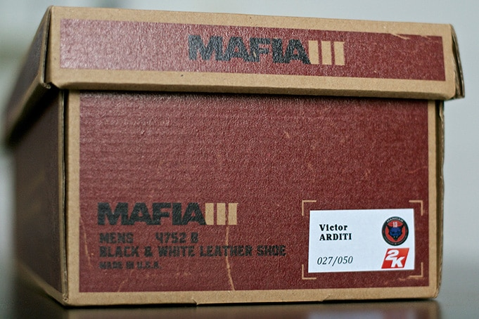 Unboxing Press Kit Mafia 3