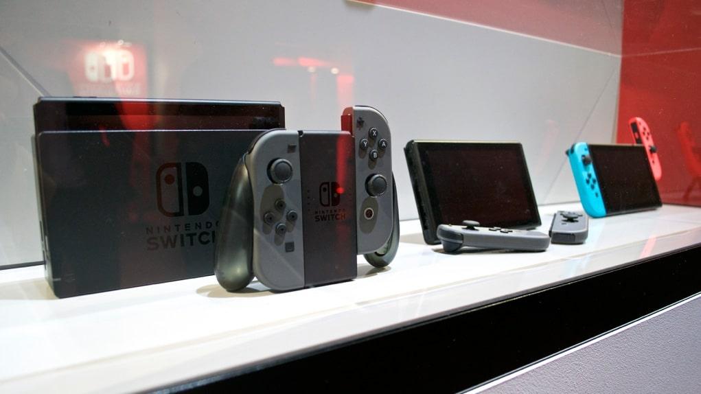 nintendo switch vente privÈe
