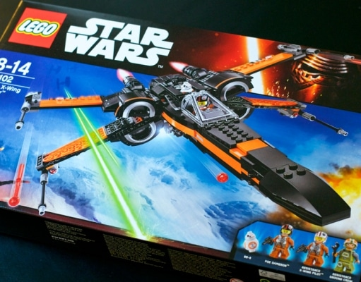 Lego Star Wars X-Wing Poe 75102