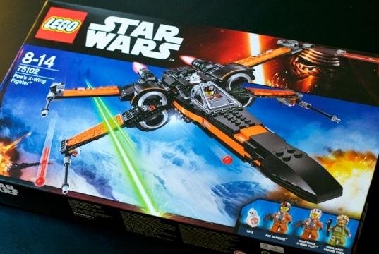 Lego Star Wars X-Wing Poe 75102