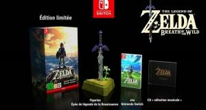 Precommande Zelda Breath Of The Wild Collector