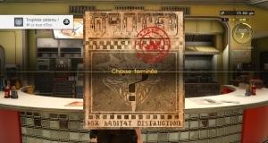 Trophee Platine FFXV Final Fantasy XV
