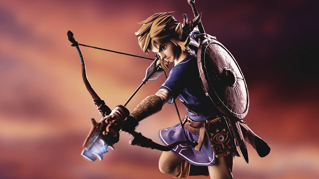 Figurine Link Zelda F4F Breath Of The Wild