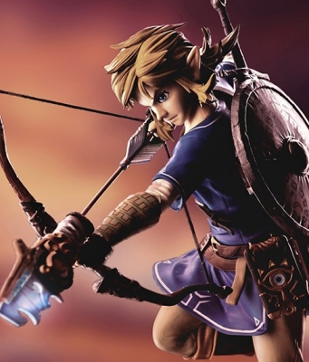 Figurine Link Zelda F4F Breath Of The Wild