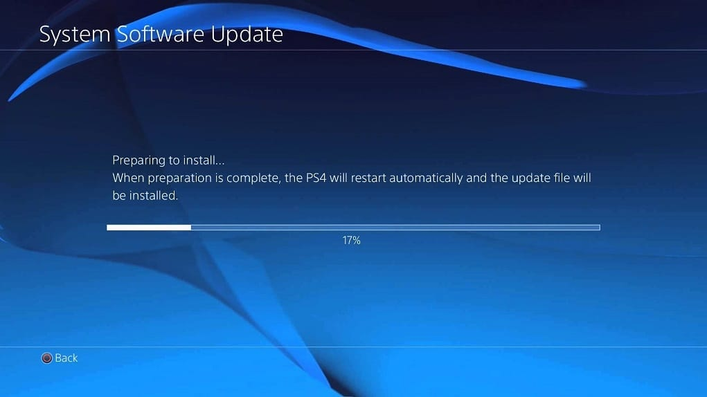 Mise a jour firmware PS4 4.50
