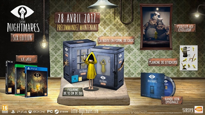 Precommande little nightmares edition collector