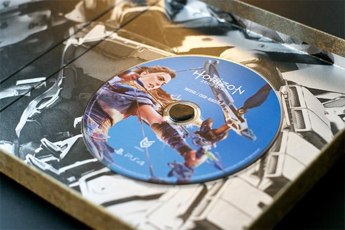 Unboxing Presskit Horizon Zero Dawn PS4