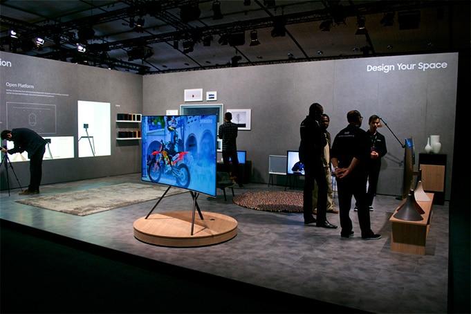 Samsung TV QLED Lancement