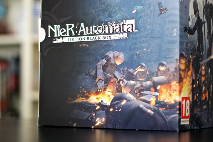 Unboxing Nier Automata Collector Black Box