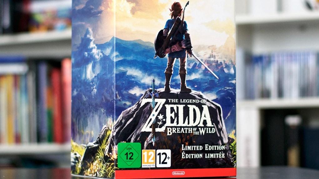 Unboxing Zelda breath Of The Wild Collector