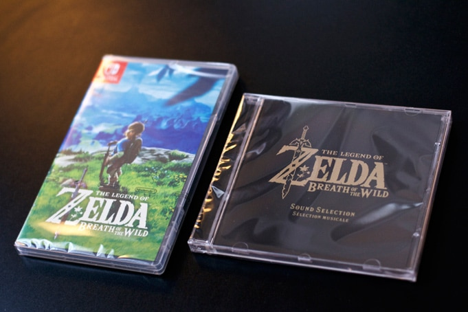 Unboxing Zelda breath Of The Wild Collector