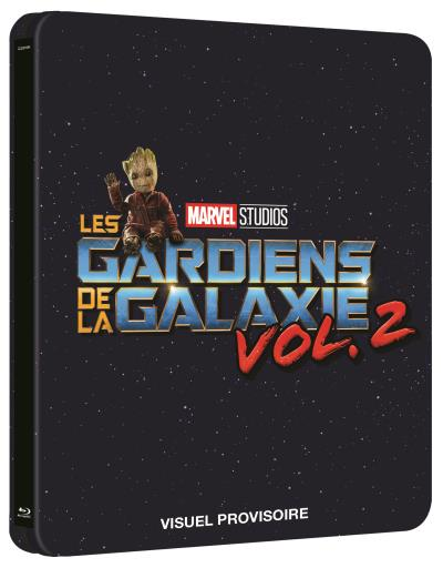 BluRay Steelbook gardiens de la galaxie 2