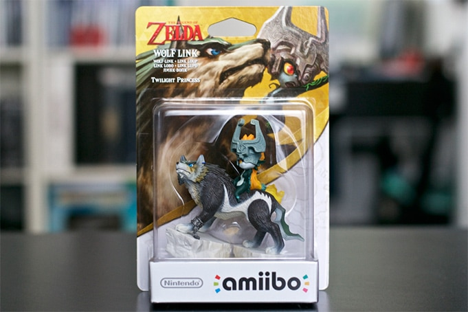 Collection Amiibo Zelda wolf link