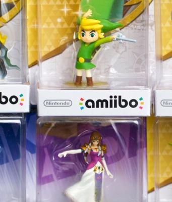 Collection Amiibo Zelda