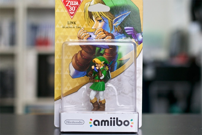 Collection Amiibo Zelda Link Ocarina